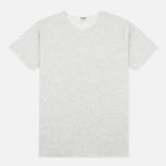 Мужская футболка YMC Raw Hem Grey фото- 0