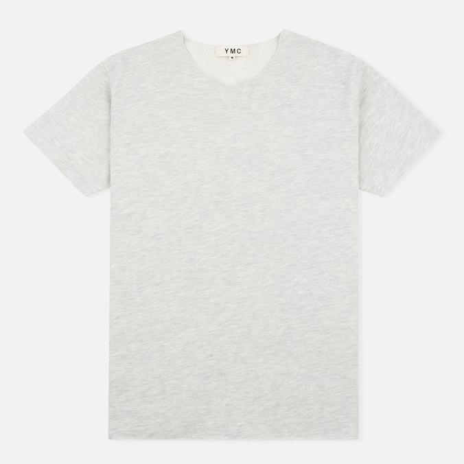 Мужская футболка YMC Raw Hem Grey