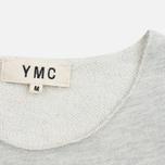 Мужская футболка YMC Raw Hem Grey фото- 2
