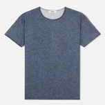 YMC Raw Hem Men's T-shirt Navy photo- 0