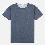 Мужская футболка YMC Raw Hem Navy фото- 0
