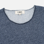 YMC Raw Hem Men's T-shirt Navy photo- 1