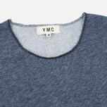 Мужская футболка YMC Raw Hem Navy фото- 1