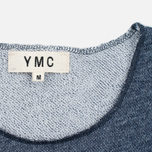 YMC Raw Hem Men's T-shirt Navy photo- 2