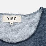 Мужская футболка YMC Raw Hem Navy фото- 2