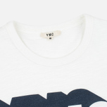 Мужская футболка YMC Shadow Logo White фото- 3