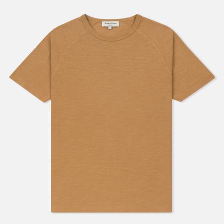 Мужская футболка YMC Television Raglan Garment Dyed Camel