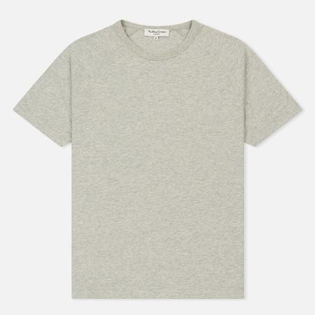 Мужская футболка YMC Television Raglan Garment Dyed Grey