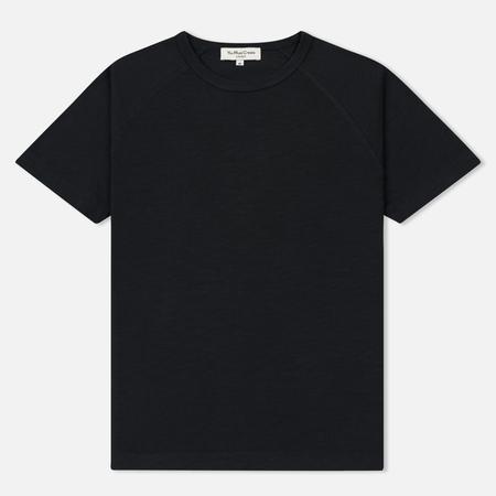 Мужская футболка YMC Television Raglan Pigment Dye Slub Jersey Navy