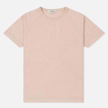 Мужская футболка YMC Television Raglan Pigment Dye Slub Jersey Pink