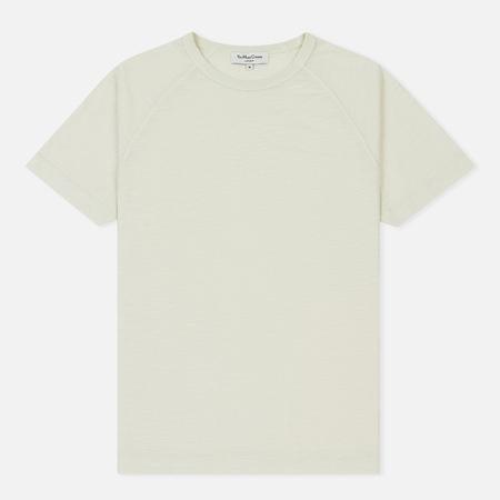 Мужская футболка YMC Television Raglan Slub Jersey Ecru