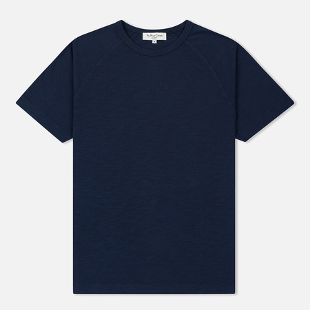 Мужская футболка YMC Television Raglan Slub Jersey Navy
