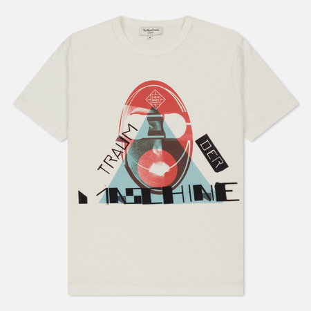 Мужская футболка YMC Traum Der Maschine Ecru