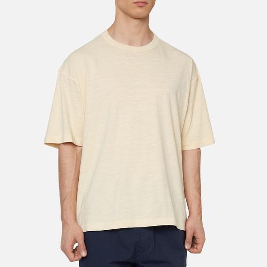 Мужская футболка YMC Triple Slub Jersey Ecru