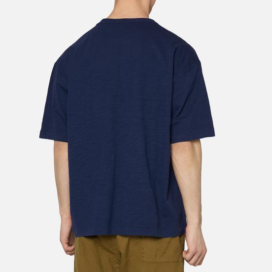 Мужская футболка YMC Triple Slub Jersey Navy