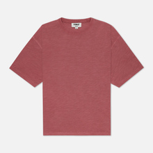 Мужская футболка YMC Triple Slub Jersey Pink фото- 0