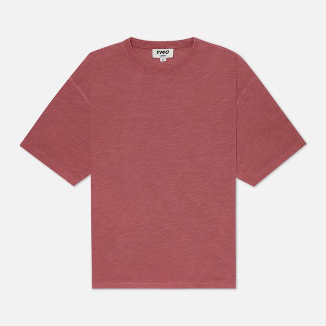 Мужская футболка YMC Triple Slub Jersey Pink