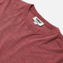 Мужская футболка YMC Triple Slub Jersey Pink фото- 1