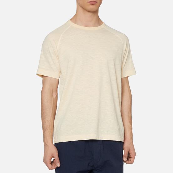 Мужская футболка YMC TV Raglan Ecru