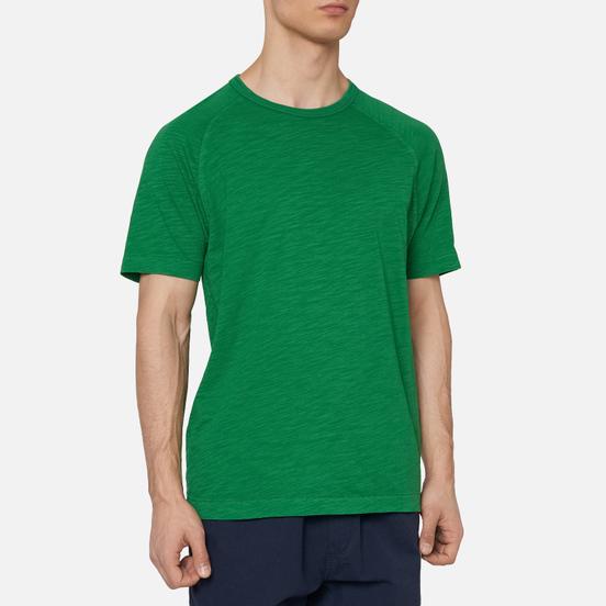 Мужская футболка YMC TV Raglan Green