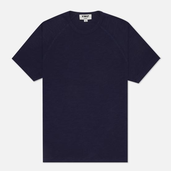 Мужская футболка YMC TV Raglan Navy