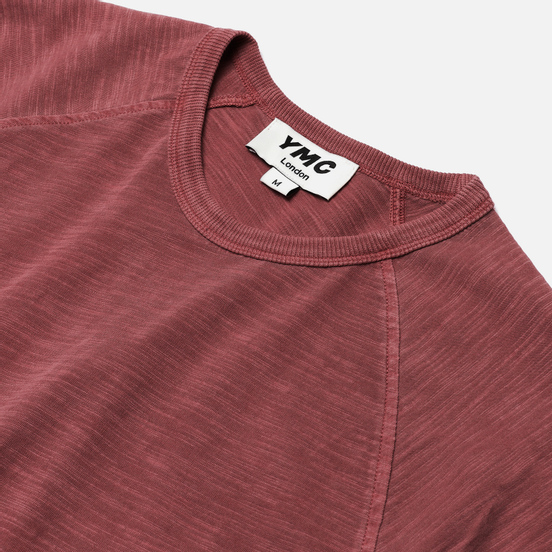 Мужская футболка YMC TV Raglan Pink