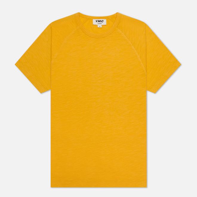 Мужская футболка YMC TV Raglan Yellow
