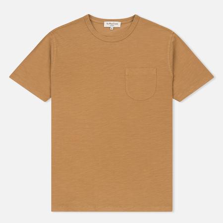 Мужская футболка YMC Wild Ones Chest Pocket Camel
