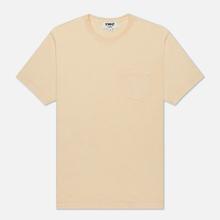 Мужская футболка YMC Wild Ones Pocket Garment Dyed Ecru фото- 0