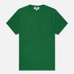 Мужская футболка YMC Wild Ones Pocket Garment Dyed Green