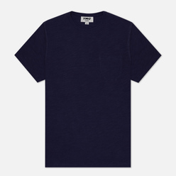 Мужская футболка YMC Wild Ones Pocket Garment Dyed Navy