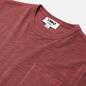Мужская футболка YMC Wild Ones Pocket Garment Dyed Pink фото - 1