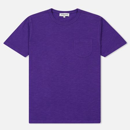 Мужская футболка YMC Wild Ones Pocket Garment Dyed Purple