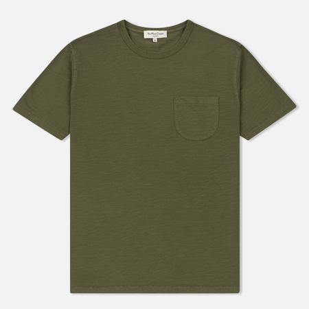 Мужская футболка YMC Wild Ones Chest Pocket Green