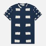 Мужская футболка YMC Wild Ones Pocket Indigo фото- 0