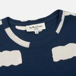 Мужская футболка YMC Wild Ones Pocket Indigo фото- 1