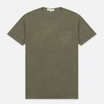 Мужская футболка YMC Wild Ones Pocket Olive фото- 0