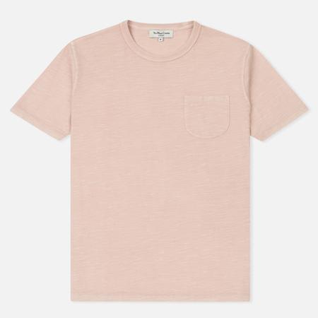Мужская футболка YMC Wild Ones Pocket Pigment Dye Slub Jersey Pink