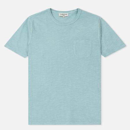 Мужская футболка YMC Wild Ones Pocket Pigment Dye Slub Jersey Sky