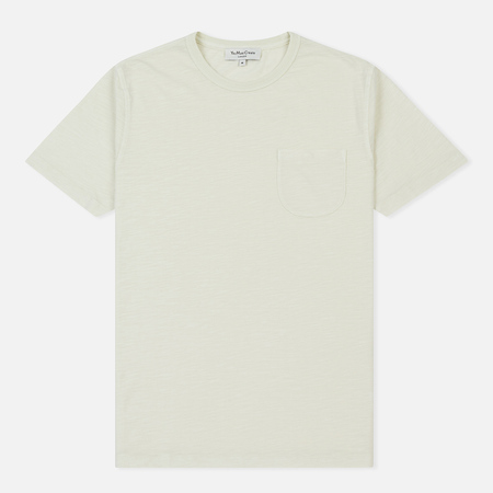 Мужская футболка YMC Wild Ones Pocket Slub Jersey Ecru