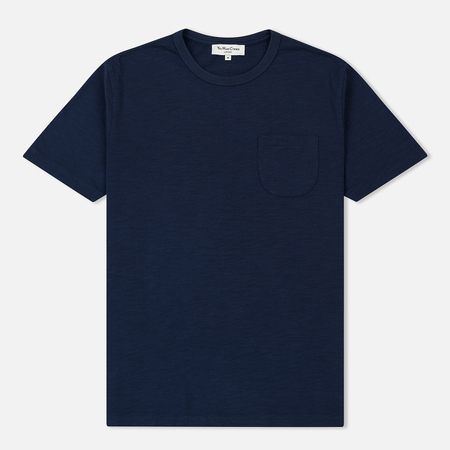Мужская футболка YMC Wild Ones Pocket Slub Jersey Navy