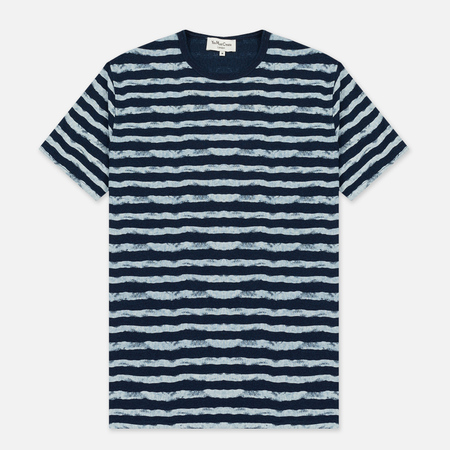 Мужская футболка YMC Wild Ones Stripe Indigo