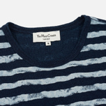 Мужская футболка YMC Wild Ones Stripe Indigo фото- 1