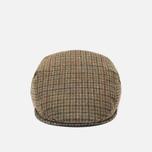Мужская кепка Barbour Crieff Dark Olive Check фото- 0
