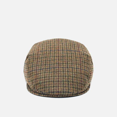 Мужская кепка Barbour Crieff Dark Olive Check