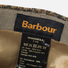 Кепка Barbour Crieff Dark Olive Check фото- 4