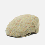 Barbour Crieff Men's Cap Khaki/Herringbone photo- 2