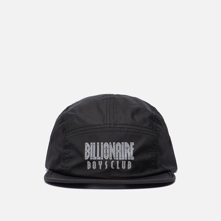 Мужская кепка Billionaire Boys Club 5 Panel Straight Logo Print Black