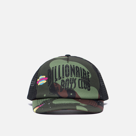 Мужская кепка Billionaire Boys Club Camo Arch Tracker Black/Camouflage