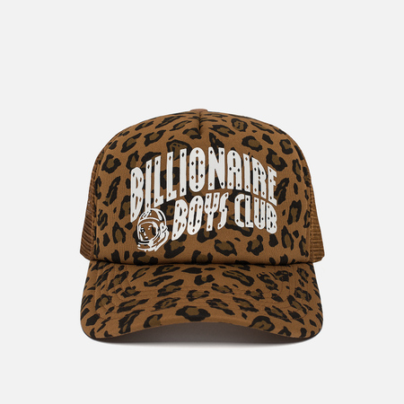 Мужская кепка Billionaire Boys Club Leopard Trucker Brown